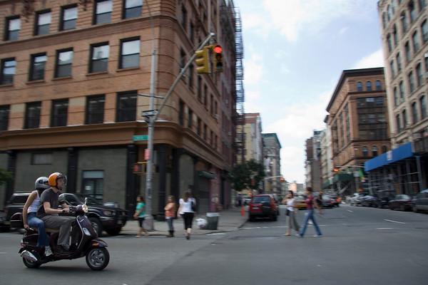 Motion in Manhattan